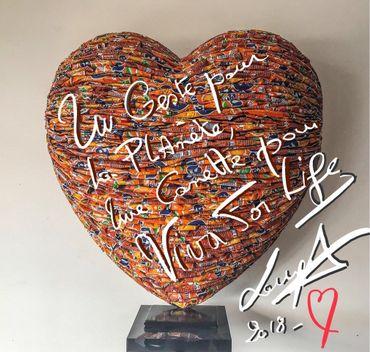 Un geste pour la Planète,un Cœur et une Canette pour Viva For Life