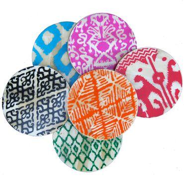 Aisha Bone Coasters, Eco Chic
