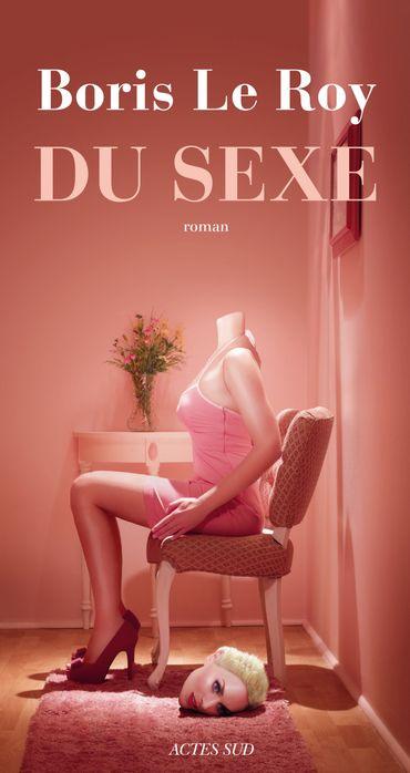 """""""Du Sexe"""", Boris Le Roy, éditions Actes Sud, 20 euros"""
