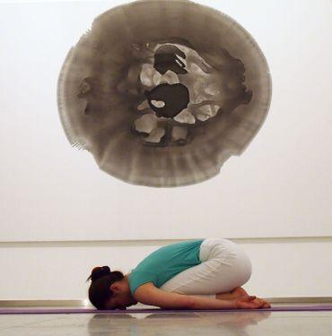 Et pourquoi pas du yoga au musée ?