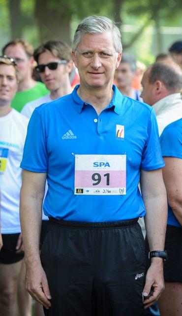 Le Roi Philippe parcourt les 20km en moins de deux heures !