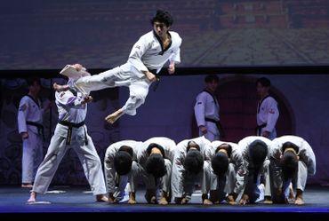 Visite d'État en Corée du Sud: le roi Philippe s'essaye au taekwondo