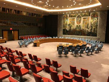 Siège des Nations unies à New-York.