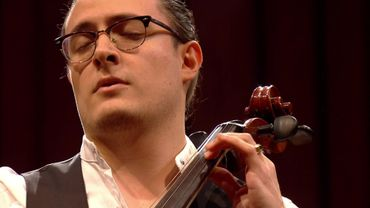 Santiago Cañón‐Valencia en plein concerto
