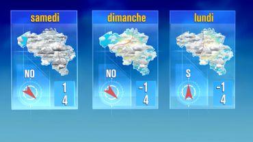 Météo de ce week-end: encore des précipitations hivernales