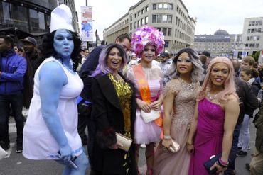 Plus de 55 000 personnes dans les rues de Bruxelles pour la Belgian Pride