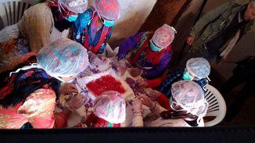 Le safran belge au Maroc