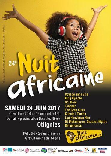 La 24e Nuit africaine sur le thème des migrations