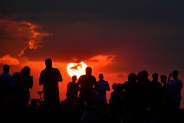 L'éclipse vue de Berlin.