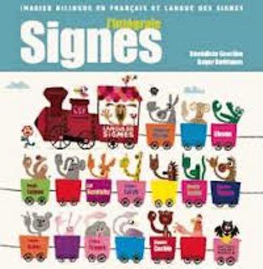 «L'intégrale Signes – imagier bilingue en français et en langue des signes » de Bénédicte Gourdon & Roger Rodrigez – Ed Thierry Magnier