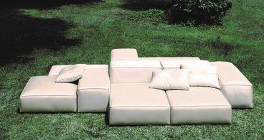 """Le canapé modulable """"My design"""" de Piero Lissoni pour Living Divani"""