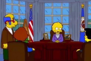 Les Simpson avaient prédit la victoire de Trump... il y a 16 ans