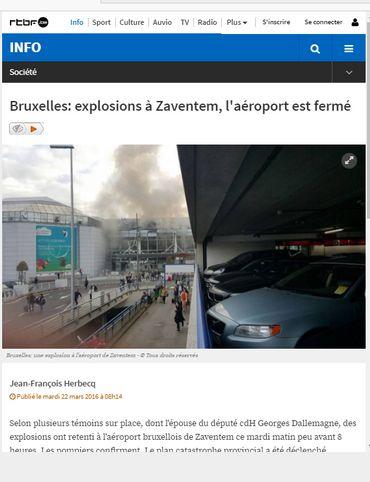 Attentats de Bruxelles: comment la rédaction a vécu le 22 mars