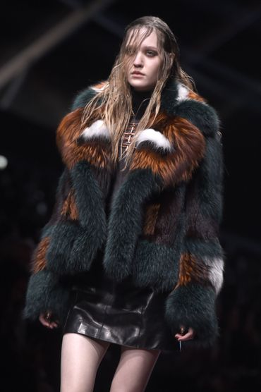 La version tricolore de Just Cavalli - Collection prêt-à-porter automne-hiver 2015-2016