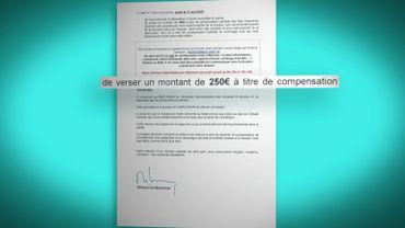 demande de compensation de l'Association belge anti-contrefaçon