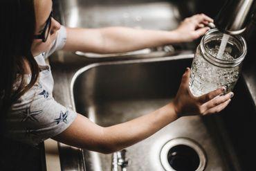 Prix de l'eau du robinet.
