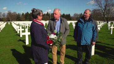 Le cimetière militaire d'Henri-Chapelle. Le site est géré par l'American Battle Monuments Commission.