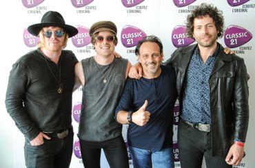 Le groupe avec Laurent Debeuf