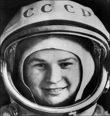 Valentina Terechkova, première femme à la conquête de l'espace