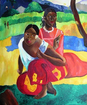 Quand tue maries-tu? de Paul Gauguin acheté 265 millions d'€ par le Qatar.