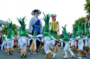 Le Carnaval de Tilff, ses sympathiques porais et géants
