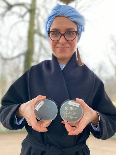 Asma Boujtat est élue Ambassadrice des Sciences 2021