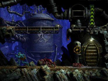 Capture d'écran d'Oddworld sur Playstation