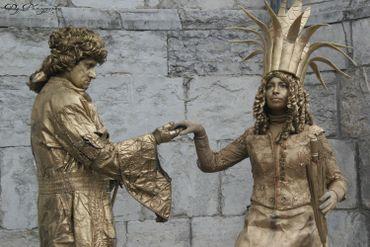 D'incroyables statues plus vraies que nature