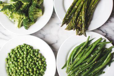 Faites le plein de légumes verts.
