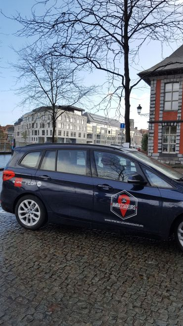 En route pour Tournai !
