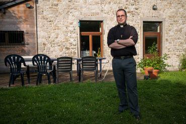 Nicolas, séminariste namurois depuis quelques mois