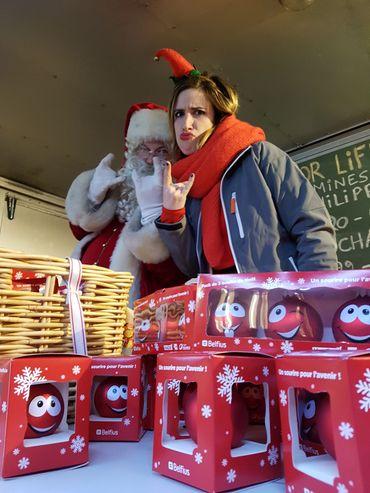 Père Noël et lutin Maboule, plus rock'n roll que jamais !