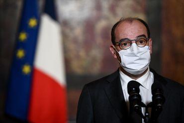 Le premier ministre français Jean Castex le 29 octobre