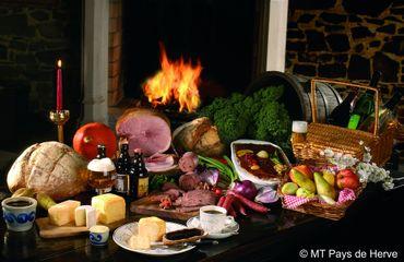 Au Pays de Herve, les produits du terroir sont légion !  Fins gourmets et amateurs de bonne chère seront aux anges.