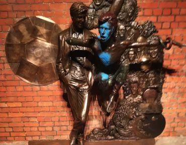 La statue Bowie à nouveau vandalisée
