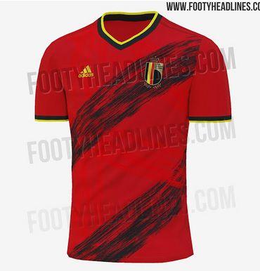 Le maillot que les Diables devraient porter à l'Euro 2020 dévoilé