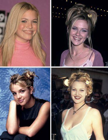 Aaaah, ces demoiselles qui nous faisaient tant rêver jadis. Leurs coiffures, maintenant, un peu moins.