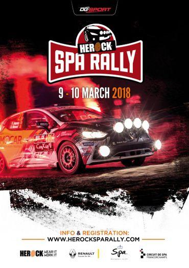Affiche du Spa Rally 2018