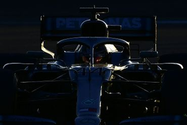 La Mercedes de Lewis Hamilton
