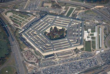 Vue aérienne du Pentagone, à Washington, en 2018