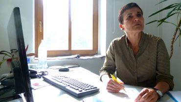 Katrine Winkler, responsable de l'office du tourisme d'Hoyerswerda