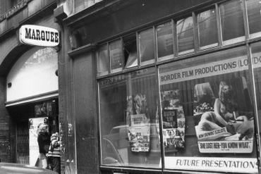 L'entrée du Marquee Club en 1970.