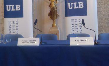François Englert Prix Nobel de physique? Pourquoi il est permis d'y croire