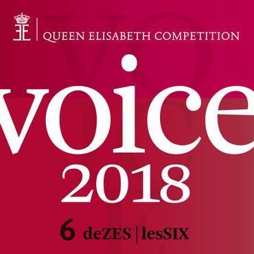 """Prolongez le plaisir du Concours Reine Elisabeth 2018 avec la Playlist """"Les Six / De Zes"""""""