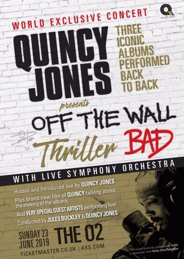 Quincy Jones annonce un énorme show