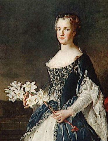 La reine Marie Leszczyńska, par Alexis Simon Belle