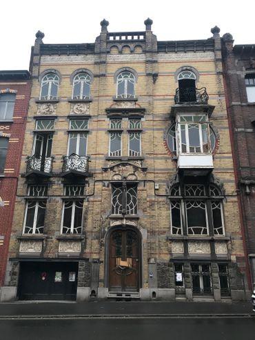 Charleroi : Une maison Art Nouveau bientôt transformée en centre culturel et gîte