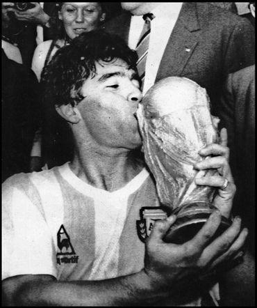 La victoire au Mondial mexicain de 1986