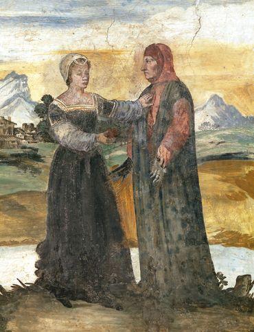 Le coup de foudre de Pétrarque pour Laure