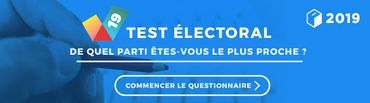 """De quel parti êtes-vous le plus proche? Faites le """"Test Electoral"""""""